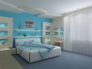 pleskanje sobe