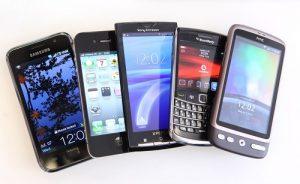 Mobilni telefoni.