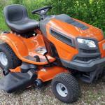 Vožnja s stilom na vrtnem traktorju