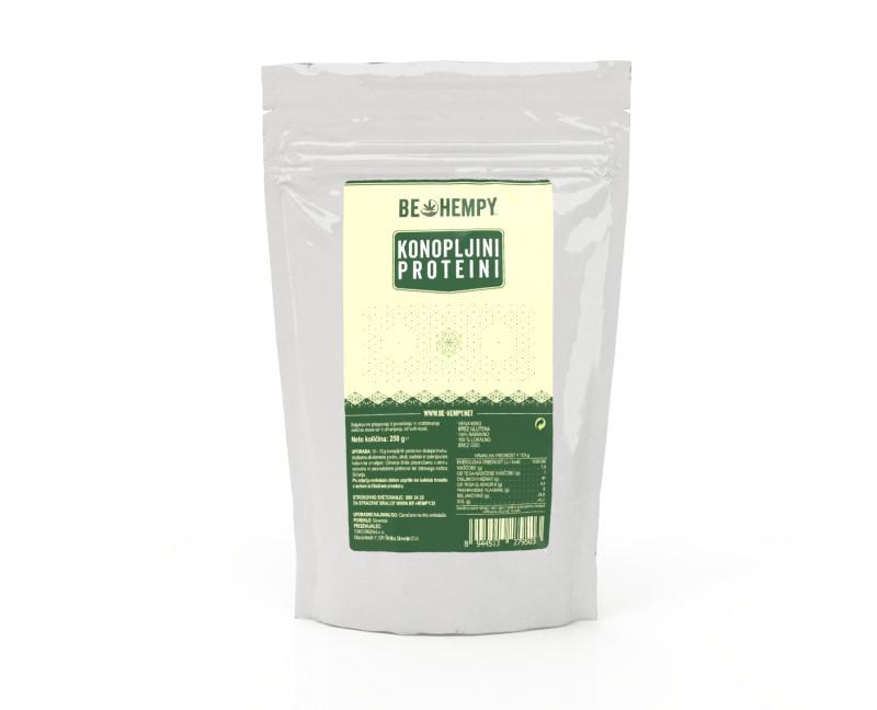 Trgovina s konopljinimi izdelki: Konopljini proteini