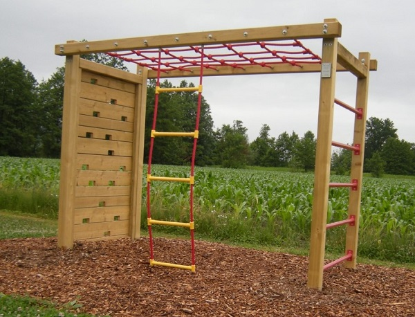 kvalitetna lesena plezala